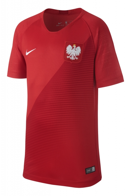 Koszulka Nike Poland 2018 Breathe Stadium Jersey Away - 894014-611