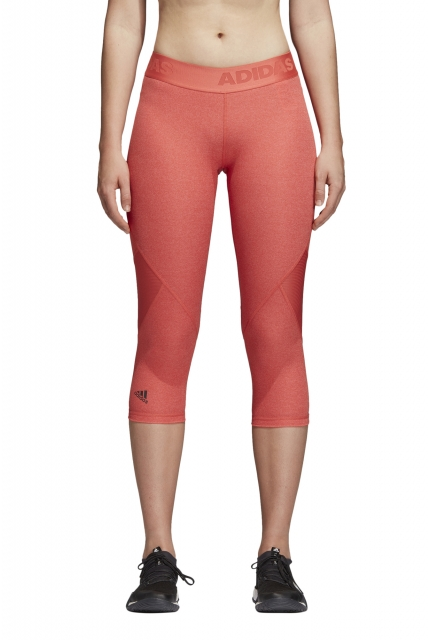 Legginsy adidas 3/4 Alphaskin Sport Heather - CE3971