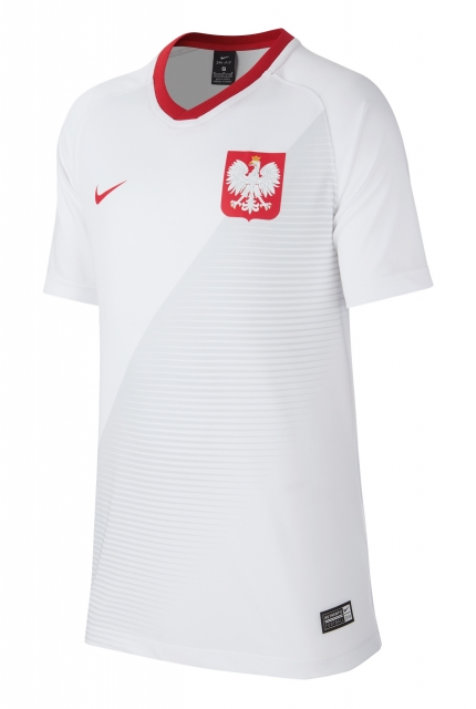 Koszulka Nike Poland 2018 Breathe Top Home - 894013-100