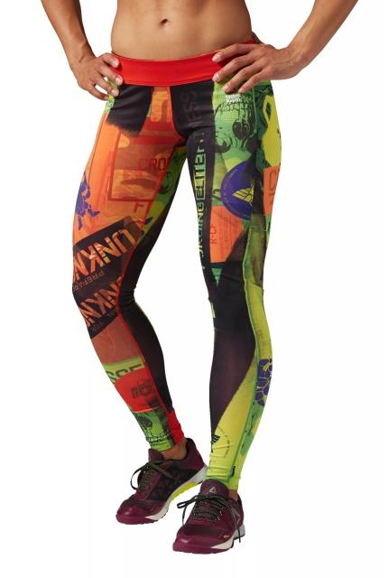 Legginsy Reebok delta 34 CrossFit Game Chase Capri