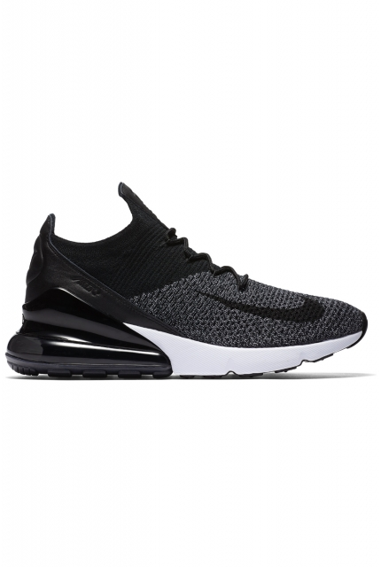 "Buty Nike Air Max 270 Flyknit ""Black/White"" - AO1023-001"