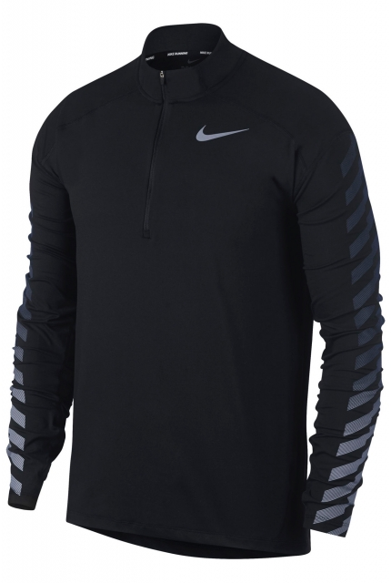 Longsleeve Nike Dry Flash Element Top Half-Zip GX - 859199-010