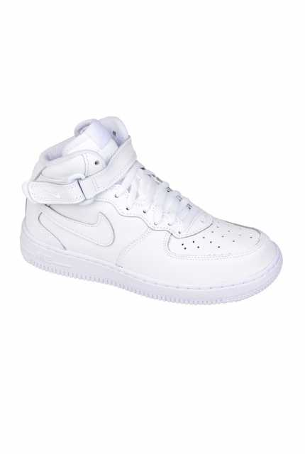 "Buty Nike Air Force 1 Mid (PS) ""All White"" - 314196-113"