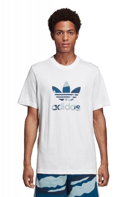 cba672e7d9 adidas Originals Koszulka adidas Originals Camouflage Trefoil - DX3676