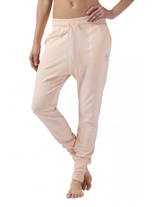 Spodnie Reebok High Waisted Cotton Jogger