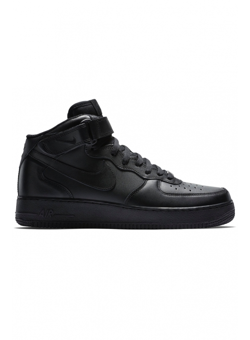 "Buty Nike Air Force 1 Mid 07 ""All Black"" - 315123-001"
